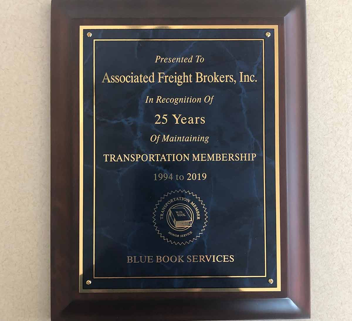 CELEBRATING 31 YEARS OF MEMBERSHIP WITH THE BLUE BOOK!
